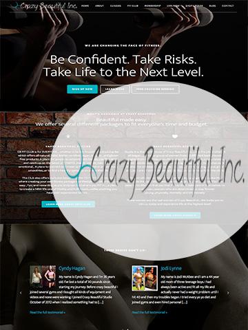 Crazy-beautiful-INC-website